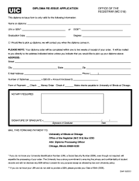 Letter Of Re Issuance Of Diploma Fill Online Printable Fillable