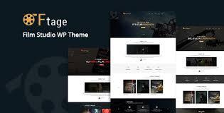 Wordpress Movie Theme Ftage Movie Film Marketing Wordpress Theme Free Nulled