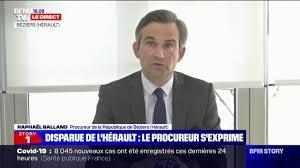 Raphaël Balland (procureur de la République de Béziers):