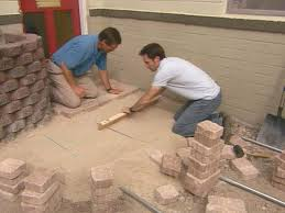 putting down pavers. Beautiful Putting Continue Screeding And Laying Pavers On Putting Down Pavers DIY Network