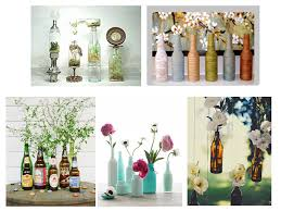 Ideas for Empty Glass Bottles