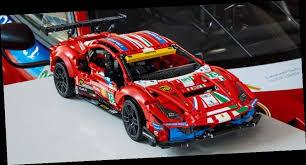 Modelbilen er fyldt med autentiske funktioner og smukke designdetaljer og in Rev Up Lego Technic S New Ferrari 488 Gte Af Corse 51 Model Big World News