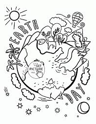 Coloring Pages Coloringes Earth Day Of Kindergarten Unique Url