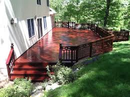 your guide on how to stain your deck