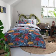 fat face wild imagination reversible duvet cover and pillowcase set