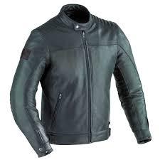 100201017 mechanics leather jacket front