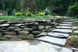 rock wall landscaping ideas rock wall landscaping pictures landscape natural boulder wall stone i would even rock wall landscaping