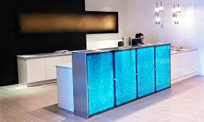 led glass lighting. beautiful lighting illuminated reception desk in led glass lighting e