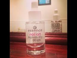 <b>Essence Nail Art</b> Express Dry Drops REVIEW & DEMO (Wednesday ...