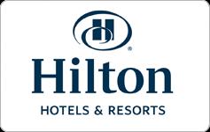 hilton hotels gift card balance