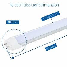 Bypass Ballast For Led Lights Details About T8 18w G13 4ft Foot Led Tube For T10 T12 Fluorescent Replacement Without Ballast