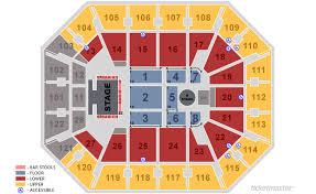 Mohegan Sun Concert Seating Mohegan Sun Arena Section 14