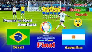 BRAZIL vs ARGENTINA FINAL 2021 - COPA ...