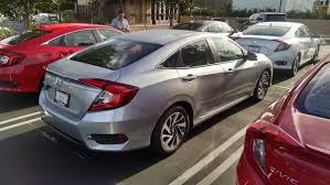 honda civic coupe silver 2017. 2016 honda civic touring in silver coupe 2017 e