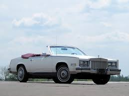 Cadillac Eldorado Biarritz Convertible 1981 Design Interior ...