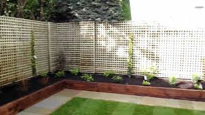 garden design with sleepers. lanscaping contract and garden design for foxrock co dublin youtube with sleepers e