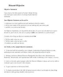 Some Objectives For Resume Resume General Objectives Strong Objectives For Resumes Full Strong