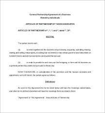 Sample Partnership Agreement Form Business Partnership Agreement Template Store Business