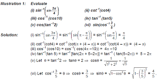 Cbse Class 12 Maths Notes Itf Important Formulas
