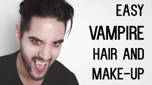 and easy vire look halloween makeup and hair tutorial james welsh you