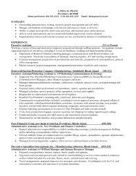 research skills resume