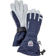 Hestra Army Leather Heli Ski Five Finger Glove Mens