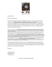 Sample Sponsorship Proposal Letter In Word And Pdf Formats