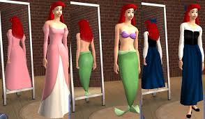 Mod The Sims - The Little Mermaid: Ariel and Family ***UPDATE***