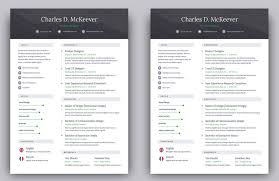 Modern Resume Templates Free Learning Sample For Educations