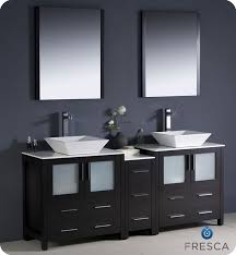 bathroom vanities bowl sinks. Fresca Torino 72\ Bathroom Vanities Bowl Sinks T