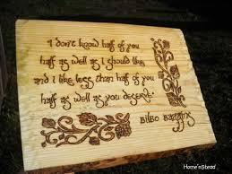 Bilbo Baggins Quotes Unique Bilbo Baggins Quote Hobbit Saying Wall Hanging The Hobbit Fan Etsy