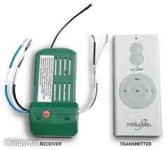how to install a ceiling fan remote the family handyman save ceiling fan remote control receiver and transmitter
