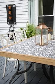 tile outdoor table. Diy Outdoor Tile Table. Tabletop Seeking Lavendar Lane Intended For Tiled Table M
