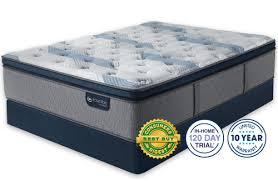 serta pillow top mattress. Serta IComfort Hybrid Blue Fusion 300 Plush Pillow Top Mattress