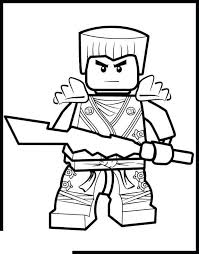 Easy Lego Ninjago Coloring Pages Drawing Pictures Super Coloring Page