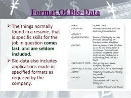 Resume Biodata Sample Sample Resume Tagalog Biodata Form