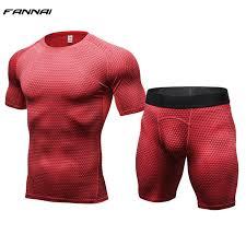 Online Shop 2 Pcs <b>Body</b> Shaper Vest <b>Men Compression T shirt</b> ...