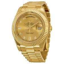 rolex watches day date president yellow gold best watchess 2017 rolex day date ii luxury watches finder
