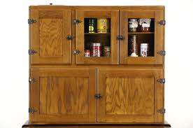 Maple Pantry Cabinet Hoosier Oak Maple 1915 Antique Kitchen Pantry Cupboard Flour