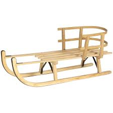 vintage dutch wooden sled to expand