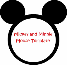 mickey and minnie invitation templates minnie mouse cut outs printable minnie mouse invitation template