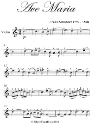 There is an easy way to remember. Ave Maria Easy Violin Sheet Music Read Book Online
