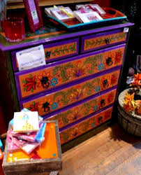 painted mexican furnitureMexico Furniture  Crafts Home