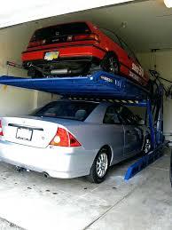 garage lift storage parking lift garage storage lift diy