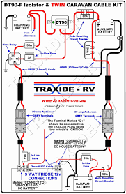 understanding caravan and tow car electrics at towing wiring for tow daddy at Wiring Tow A Car