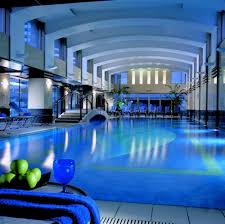 indoor swimming pool lighting. Luxury Indoor Swimming Pool Design With Elegant Lighting On The . I