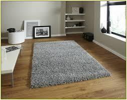 grey high pile rug