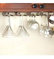under the counter wine glass holder cabinet stemware rack large in racks hanger build w stemware wine glass hanger rack under cabinet