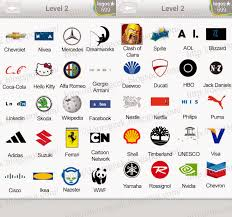 all the answers for level 2 pack of logo quiz here is the list with all the logos