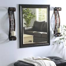 sconces mirror with sconces mirror with sconces decorate with wall sconces on either side of